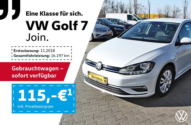 VW Golf VII JOIN
